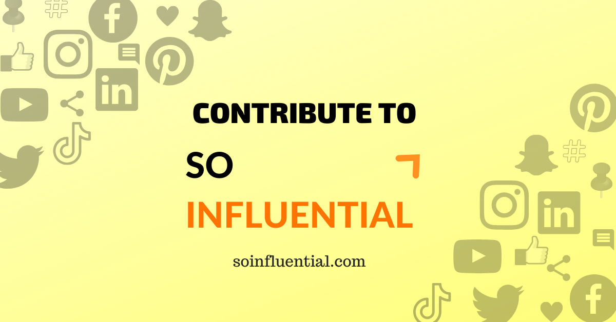 contribute to so influential